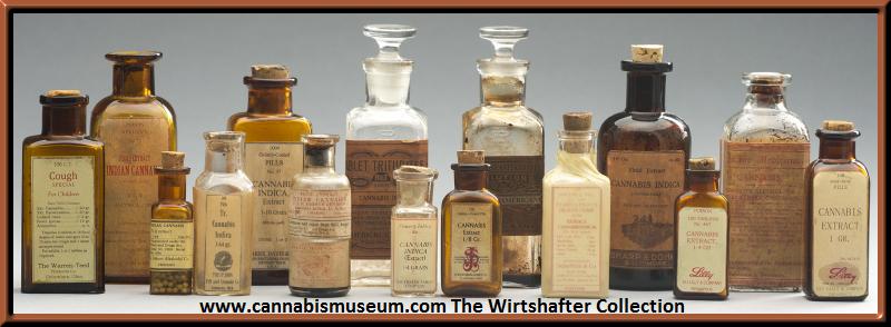 cannabis museum - more vintage cannabis medicinal bottles-1